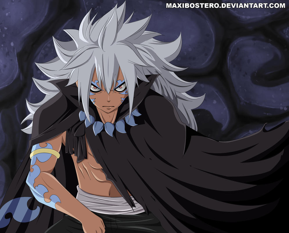 Acnologia human form Fairy Tail 436 by Maxibostero