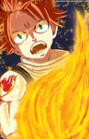 Natsu Fairy Tail 448 by Maxibostero
