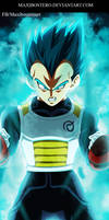 Vegeta  SSJ God Blue Dragon Ball Super 7