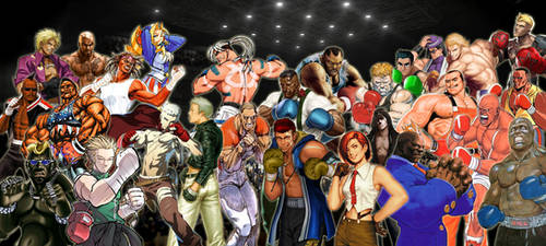 Fighting Game Boxer Tribute by TheMikko