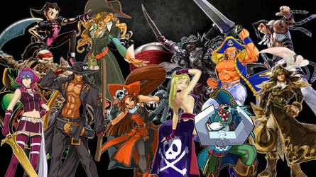 Fighting Game Pirates Tribute by TheMikko