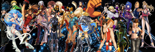 Go-To Ladies Of Fighting Games by TheMikko