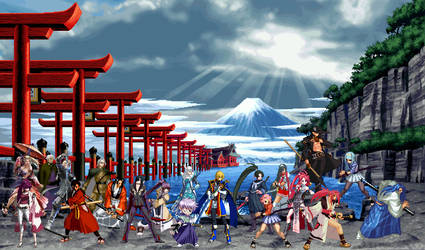 Iaijutsu In Fighting Games by TheMikko