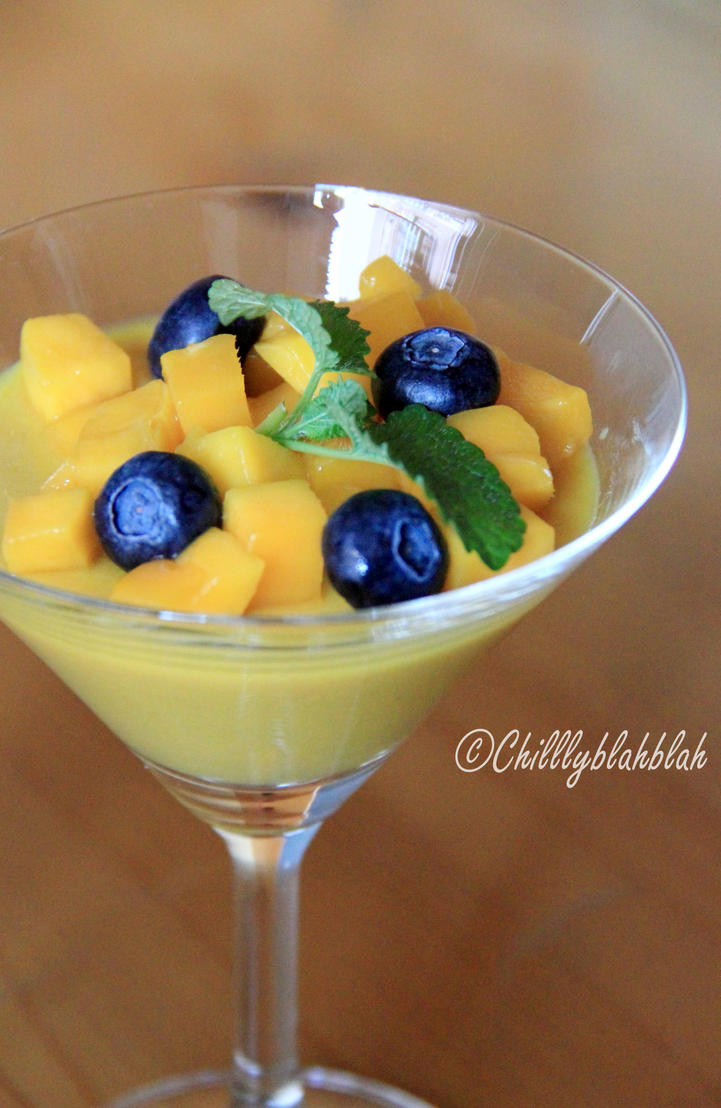Mango Milk Pudding II by Chilllyblahblah