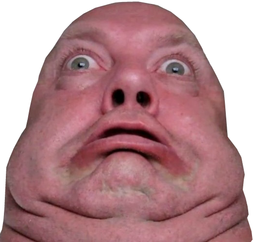 Guywithcrazyideas Ugly Face ( Transparent ) By