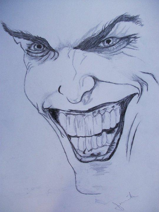 Joker pencil drawing by denikk
