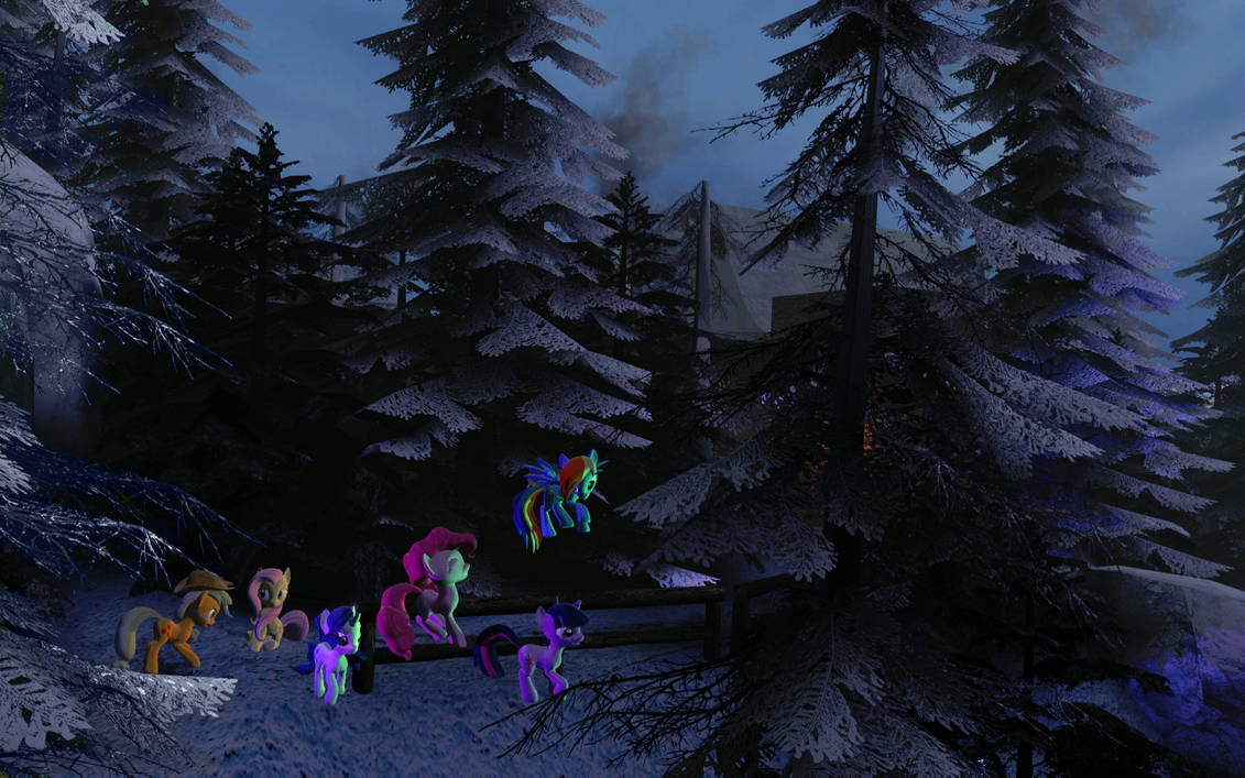 GMod: Into the Everfree Forest by BronyBiscuitBites on DeviantArt