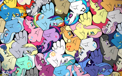 My Little Tessellation by BronyBiscuitBites