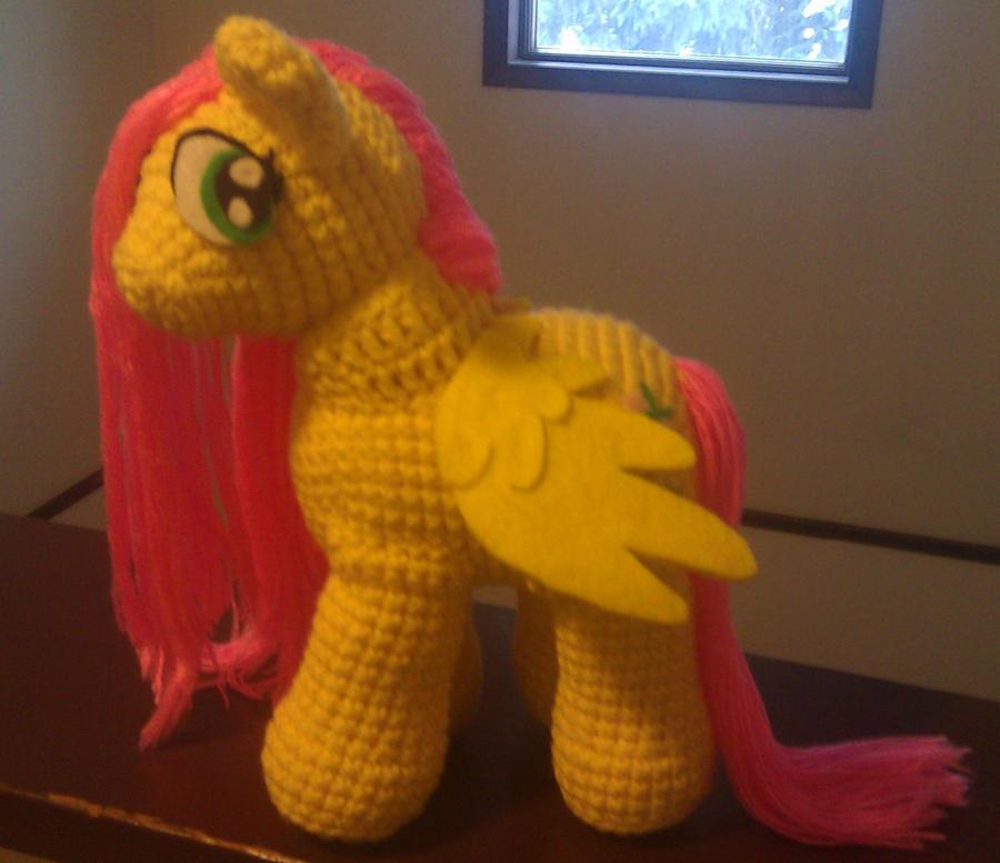 MLP My Little Pony Fluttershy Amigurumi Crochet by Zinton ...