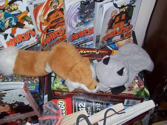 Kitsune in 'natural habitat' by carmade