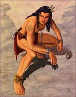 Mystery Warrior by kara-kedi
