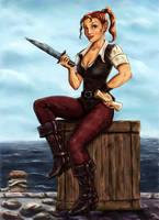 Pirate Elf by kara-kedi