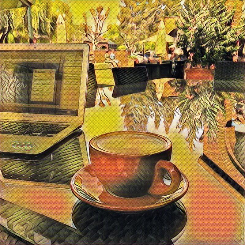 Frida Coffee 2 by DavisYoloArt