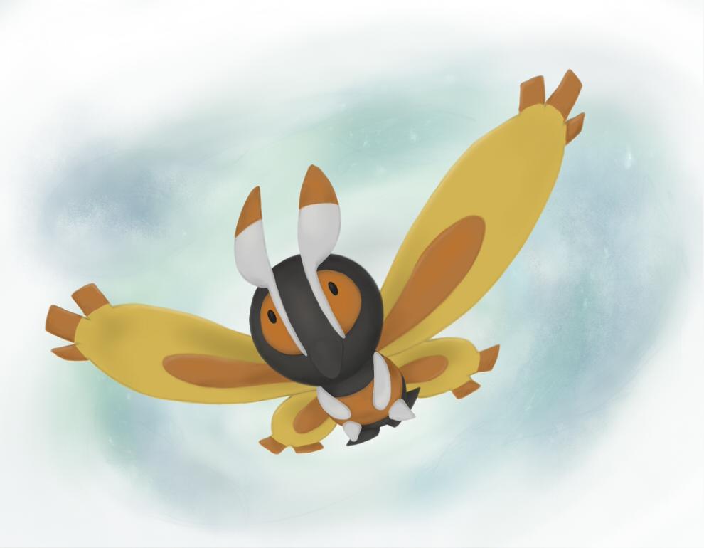 Wings of Silver Dust by DentedBrain