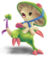 Mushroom Bonnet by DentedBrain