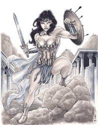 New Design Wonder Woman by BillDinh
