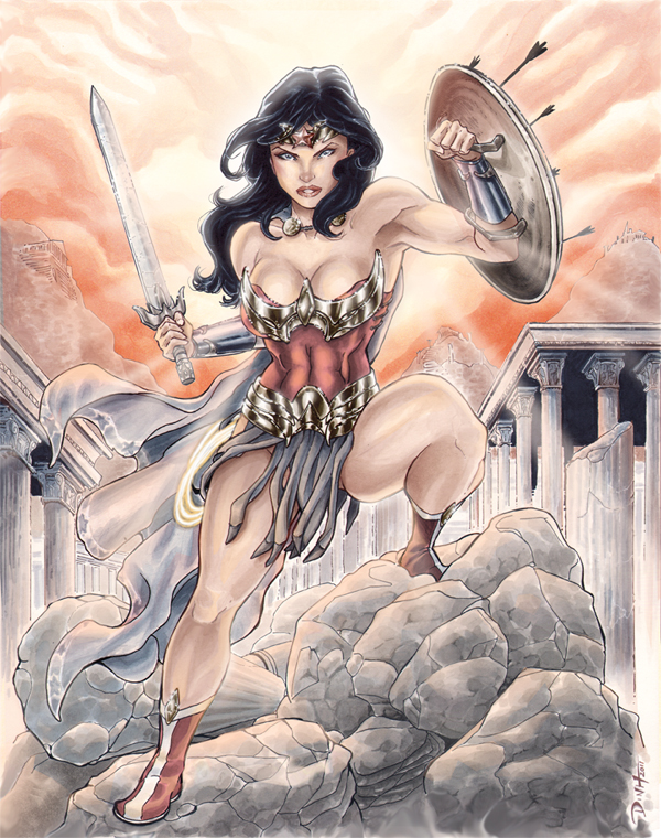 New Design Wonder Woman -Color by BillDinh