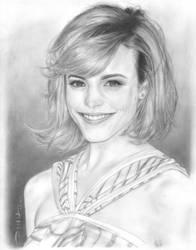 Rachel McAdams Portrait by BillDinh