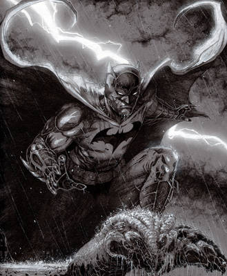 The Dark Knight Reigns by BillDinh