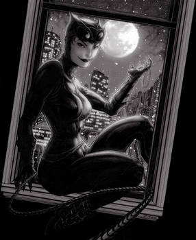 Catwoman Pearl Necklace