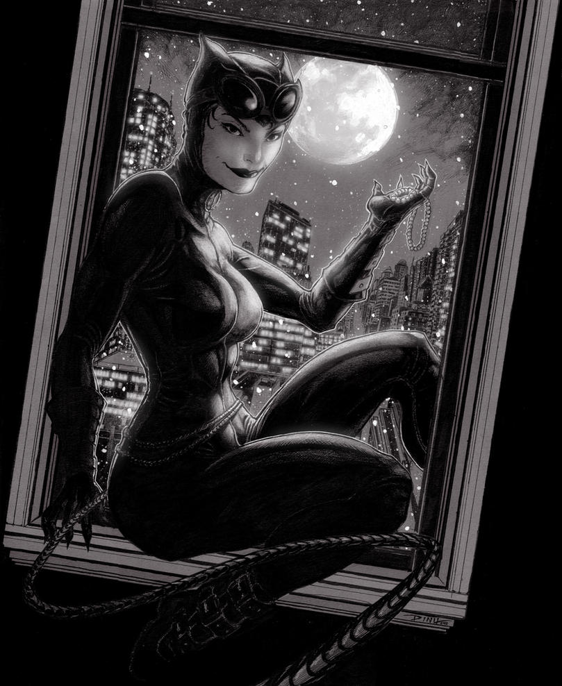 Catwoman Pearl Necklace by BillDinh