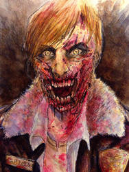 The Walking Dead's Rick Grimes as a ZOMBIE!
