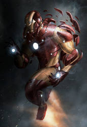 Iron Man Extremis Experiment