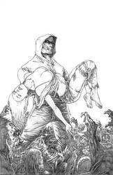 Tommy Zombie #3 Pencils