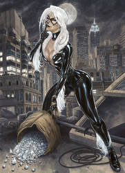 The Black Cat Commission by BillDinh