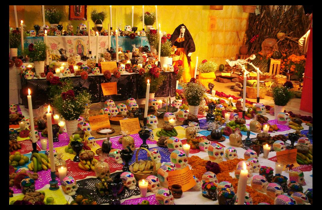 Fotos Del Cangri Muerto: Altar De Muertos By Maryduran On DeviantArt