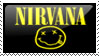 nirvana stamp by maryduran