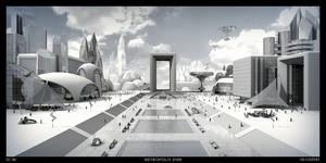 Metropolis 2106 BW by thmc
