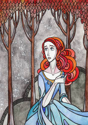 Summertime child Sansa Stark by LadySiryna