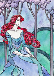 Young Catelyn by LadySiryna