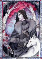 Jon Snow by LadySiryna