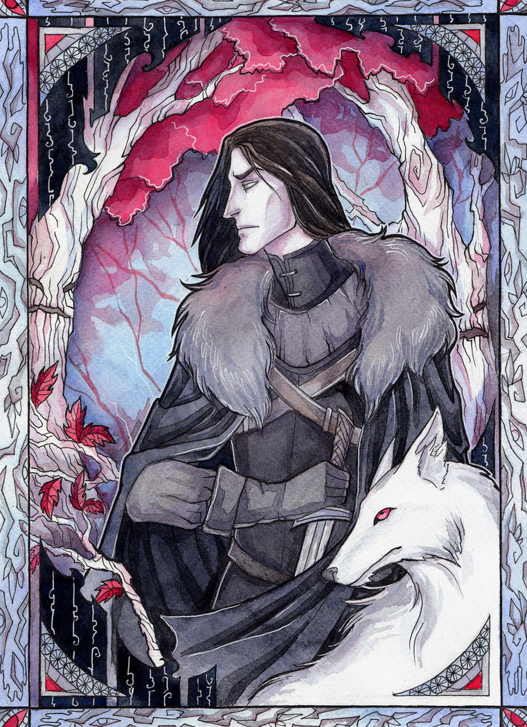Jon Snow by LadySiryna