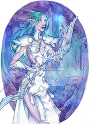 Tyrande Whisperwind by LadySiryna