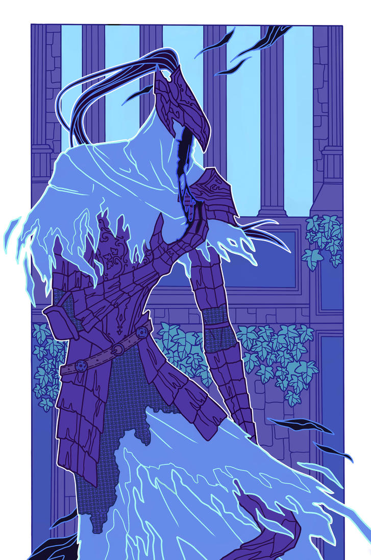 Knight Artorias by LadySiryna