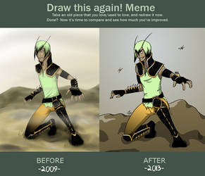 Draw This Again - Enubis by LegolianM