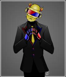 Daft Punk Mituna by LegolianM