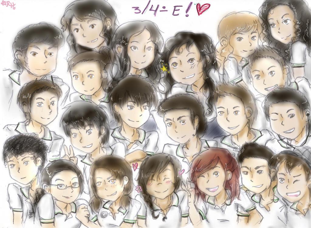 Classmates by Yuky-CuteVampireGirl