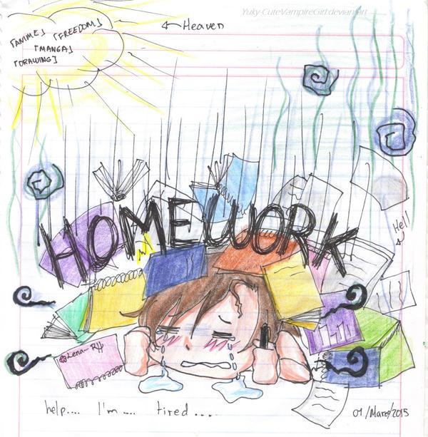 More Homework... by Yuky-CuteVampireGirl