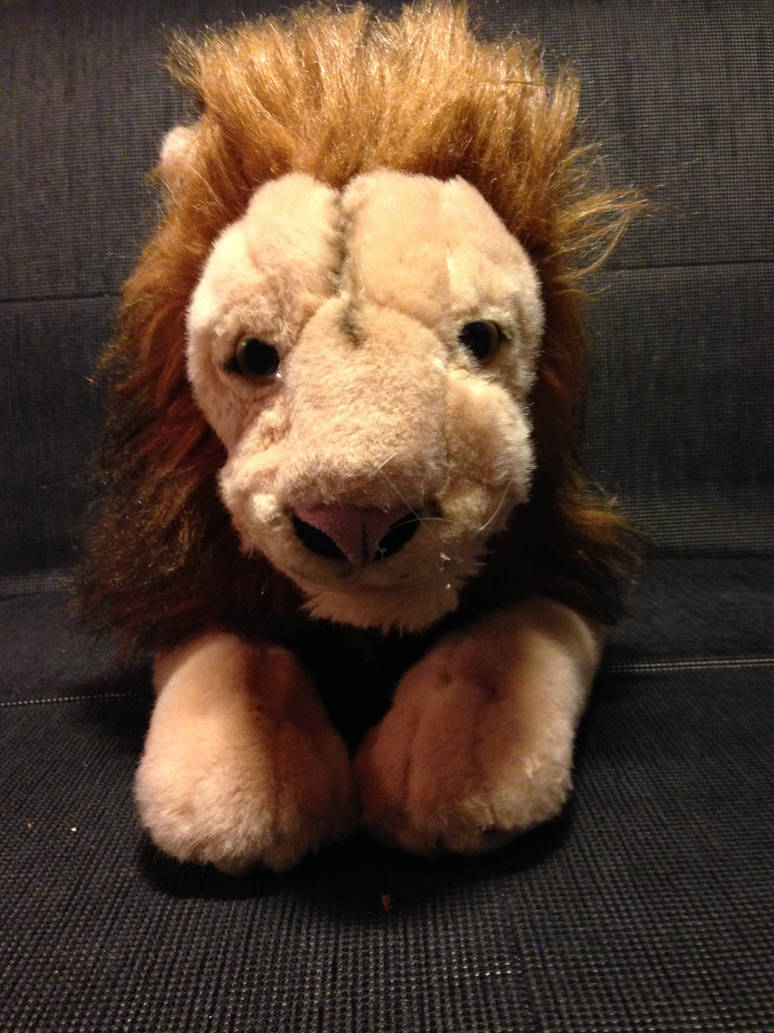 Scary Squeeze Stuffed Animals, Disney Store Aslan Plush Front By Lionzd On Deviantart