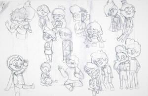 Camp Camp Doodles by EndhazomGurl