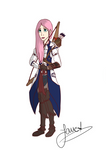 Fluttershy in Connor's Assassin Robes