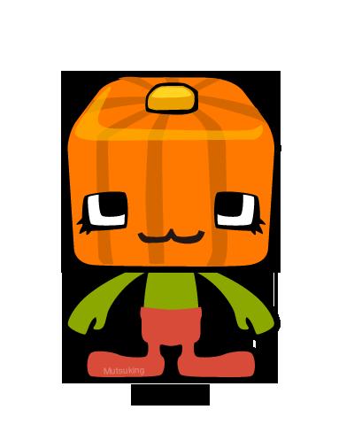 VegeCubic Pumpkin by mutsuking