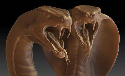 Snakebite Closeup by Ghostman2007