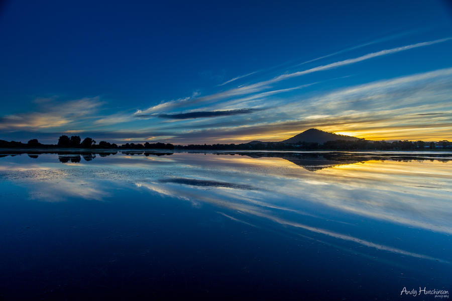 Blue Sky Sunset by andyhutchinson