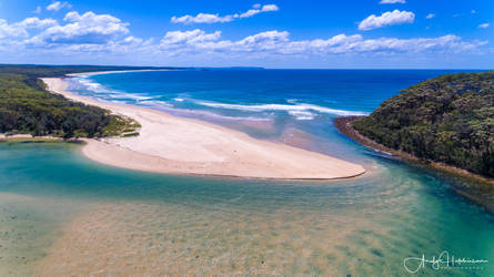 Narrawallee Inlet by andyhutchinson