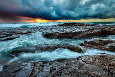 Boat Harbour Gerringong by andyhutchinson
